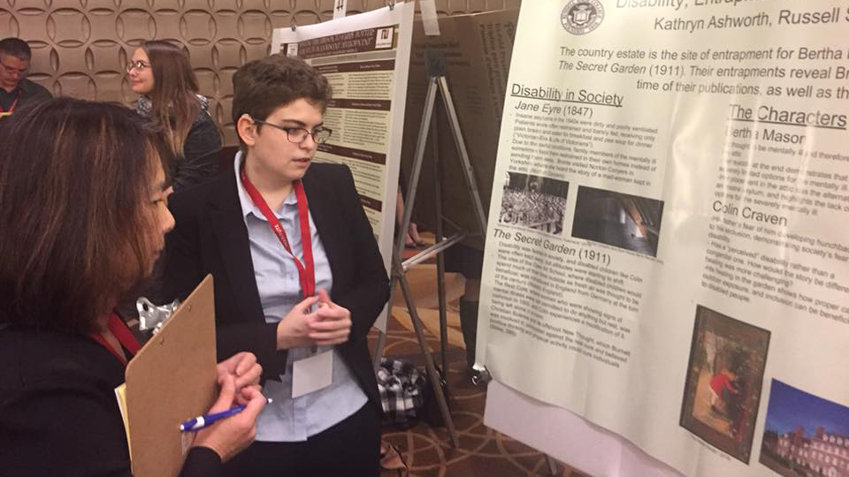 Student Research Selected for 2020 Honors Conference