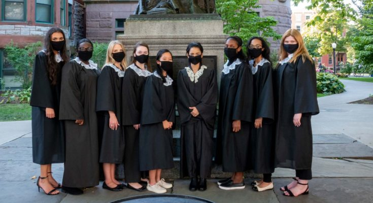 Women's Institute Students at Ruth Bader Ginsburg Tribute