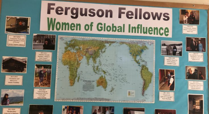 Ferguson Bulletin Board om Hart Hall