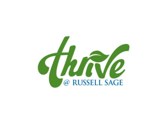 Thrive at Russell Sage logo